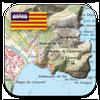 Icona Mappe Topografiche Mallorca