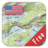 US Topo Maps-icoon