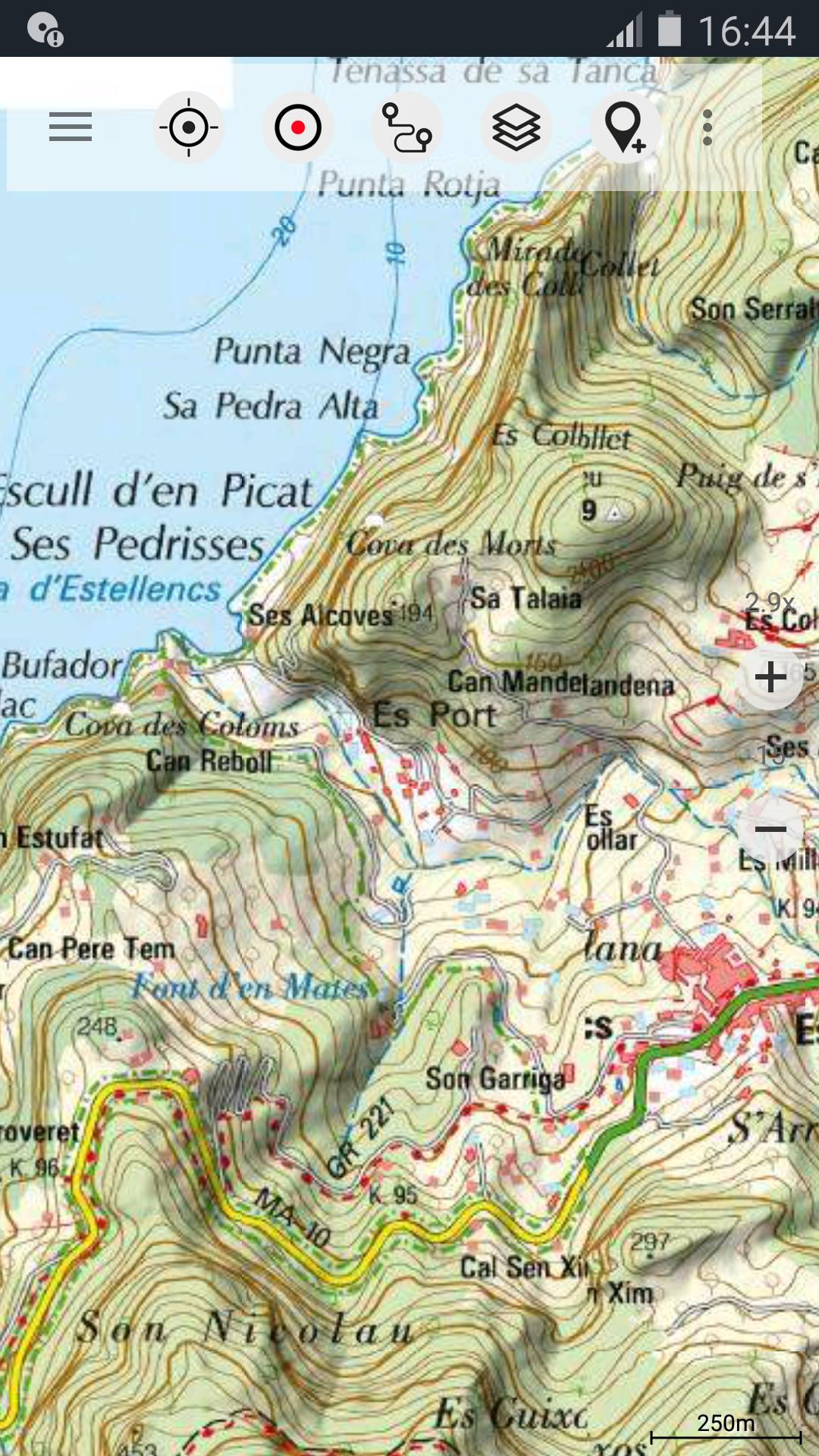 Map Of Spain For Android.Spain Topo Maps For Android Apk Download