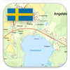 Icona Sverige Topo Kartan