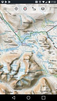 Sweden Topo Maps poster