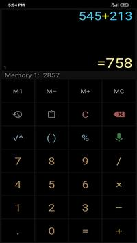 Multi-Screen Voice Calculator Pro screenshot 3