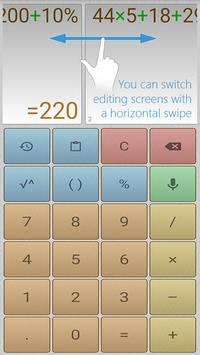 Multi-Screen Voice Calculator Pro poster