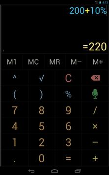 Multi-Screen Voice Calculator Pro screenshot 14
