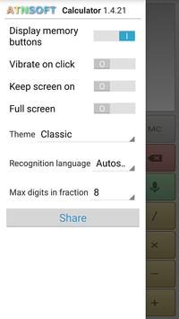 Multi-Screen Voice Calculator Pro screenshot 2