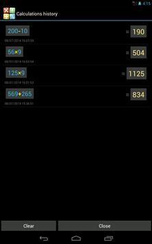 Многоэкранный голосовой калькулятор Pro скриншот 13