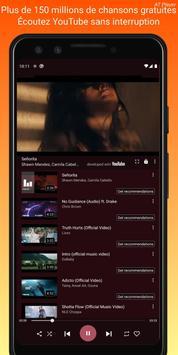 Musique gratuite a telecharger; Lecteur de YouTube capture d'écran 1
