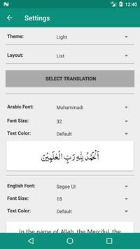 Quran English Word by Word & Translations screenshot 6