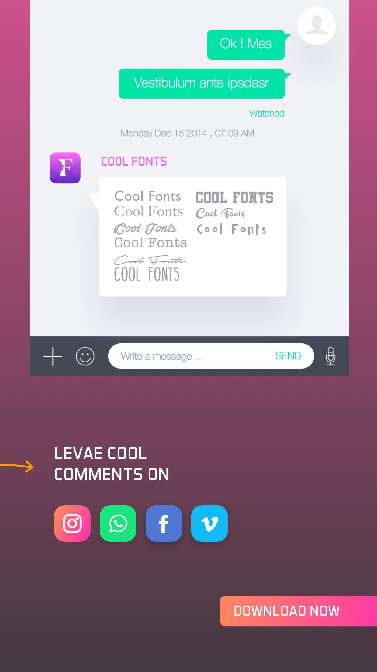 Cool Fonts for Android - APK Download