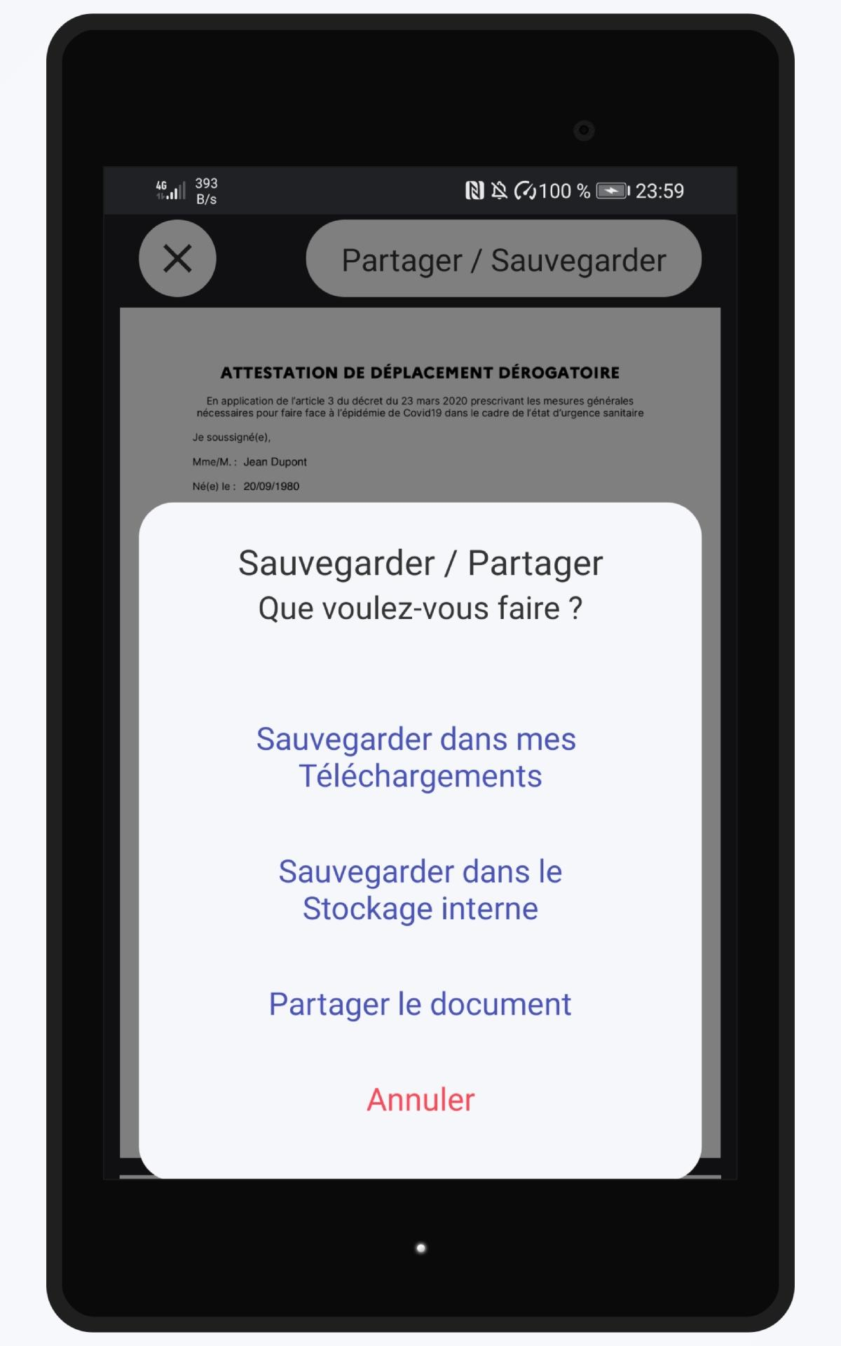Couvre Feu Attestation De Deplacement For Android Apk Download