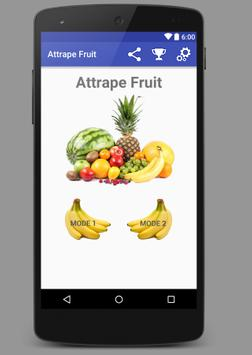 Attrape Fruit poster