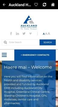 Auckland Hospitals screenshot 5