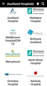 Auckland Hospitals screenshot 1