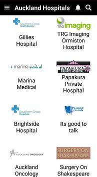 Auckland Hospitals screenshot 2