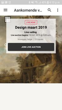 Auctioneers Bernaerts Live poster
