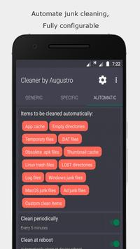 Cleaner by Augustro syot layar 2