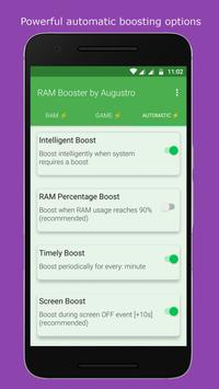 RAM & Game Booster by Augustro screenshot 2