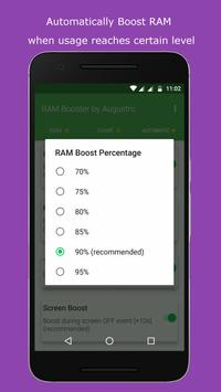 RAM & Game Booster by Augustro screenshot 4