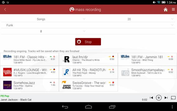 Radio Player, MP3-Recorder by Audials screenshot 10