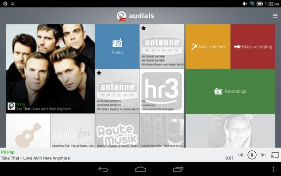Radio Player, MP3-Recorder by Audials screenshot 8