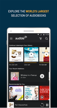 Audiobooks from Audible poster