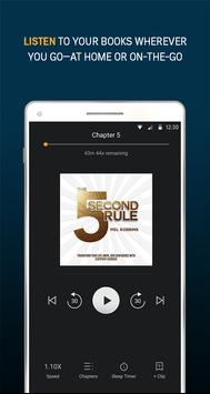 Audiobooks from Audible स्क्रीनशॉट 1