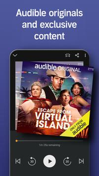 Audio Books, Stories & Audio Content by Audible screenshot 2
