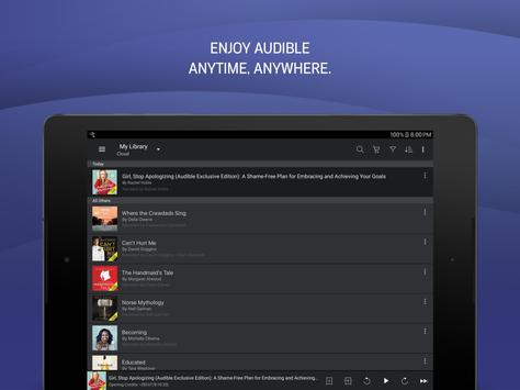 Audio Books, Stories & Audio Content by Audible screenshot 5