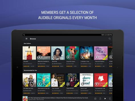Audio Books, Stories & Audio Content by Audible screenshot 7