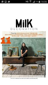 Milk Decoration poster