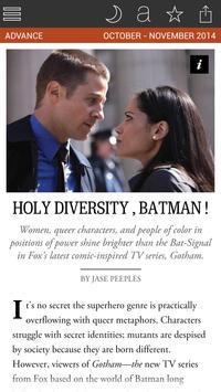 The Advocate Magazine screenshot 4