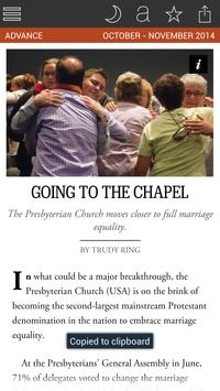 The Advocate Magazine screenshot 5
