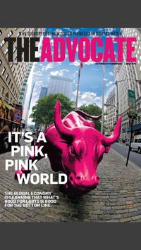 The Advocate Magazine poster