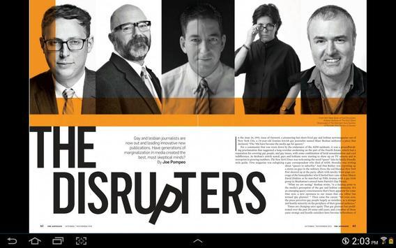 The Advocate Magazine screenshot 10