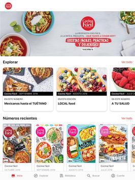 Cocina Fácil poster