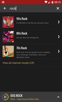 Rock Radio screenshot 6