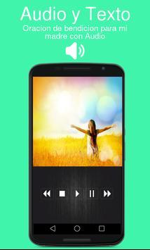 Oracion De bendicion Para Mi Madre con Audio poster