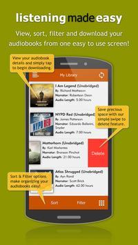 Audiobooks screenshot 3