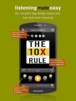 Audiobooks screenshot 5