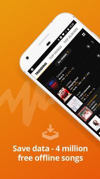 Audiomack imagem de tela 1