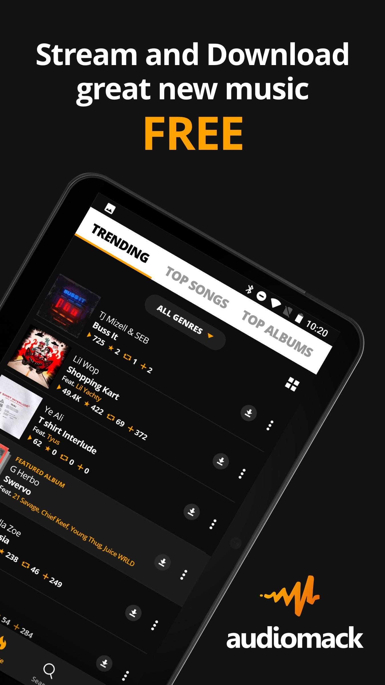 Audiomack for Android - APK Download