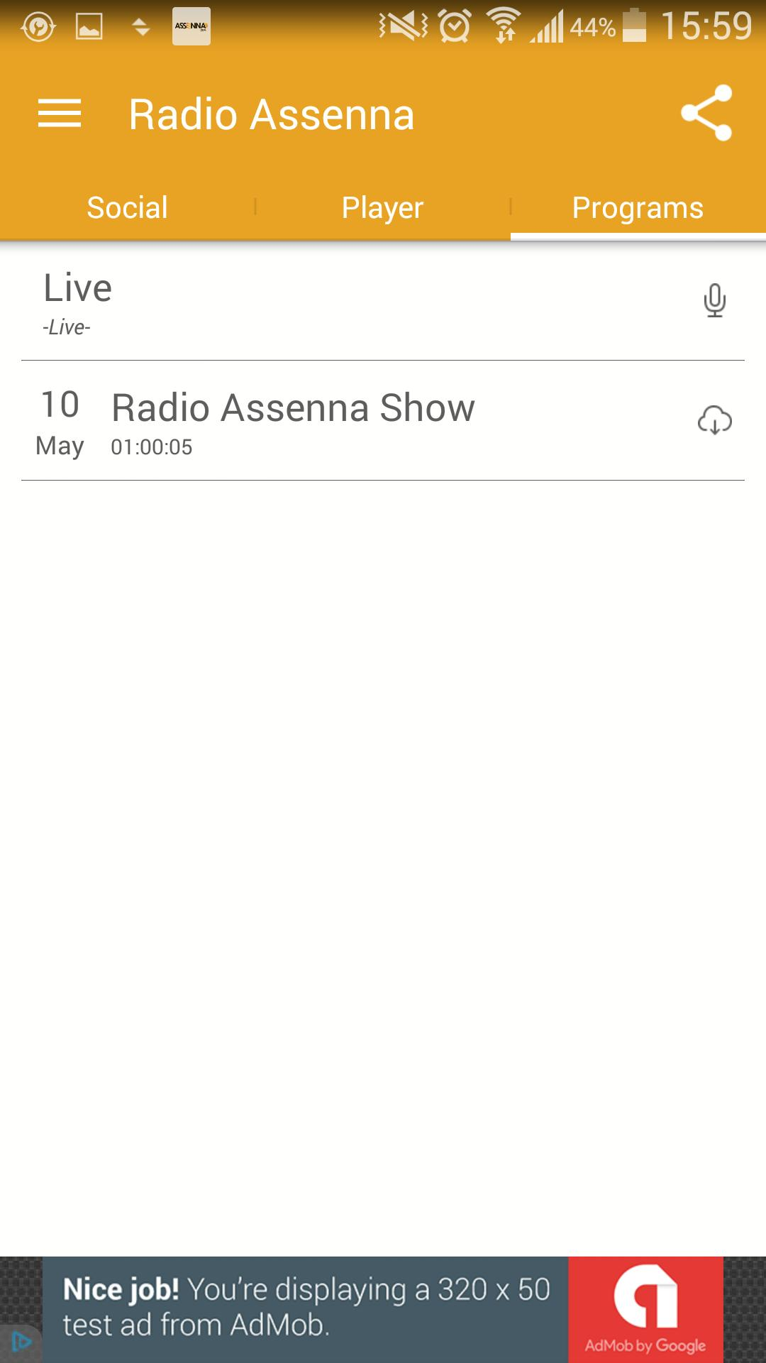 Radio Assenna for Android - APK Download