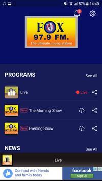 Fox FM Ghana screenshot 1