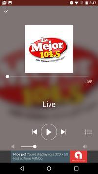 LA MEJOR 104.5FM screenshot 2