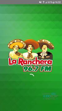 La Ranchera 96.7 FM poster