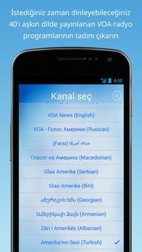 VOA Mobil Oynatıcı Ekran Görüntüsü 1