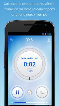 Streamer Móvil de VOA captura de pantalla 2