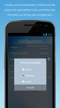 VOA Mobile Streamer capture d'écran 1