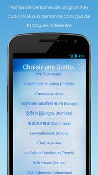 VOA Mobile Streamer capture d'écran 3