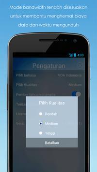 VOA Mobile Streamer screenshot 1